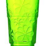 [B00LO8E3Q4] Luminarc タンブラー グラス ファニーフラワー グリーン 270 J3689