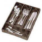 [B00D43DB10] Wenko Cutlery tray Adria Brown アドリア カトラリートレー ブラウン
