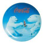 [B018XAGHCS] Luminarc デザート皿 プレート コカ・コーラ ポーラーベア 20cm J3986