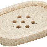 [B013JVOL6U] Andrea 石鹸置き O12.9×8.4×2.5 cm BA64251