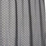 "[B001I7JJDI] Papillon, Shower Curtain Textile ""BAROQUE"" シャワーカーテン 180x200cm バロック  80145"